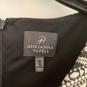 Adrianna papell cocktail dress size 10